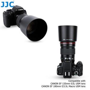 Image 4 - JJC DSLR Camera Lens Hood for Canon EF 135mm f/2L USM & Canon EF 180mm f/3.5L Macro USM Lens Replace Canon ET 78II Lens Shade