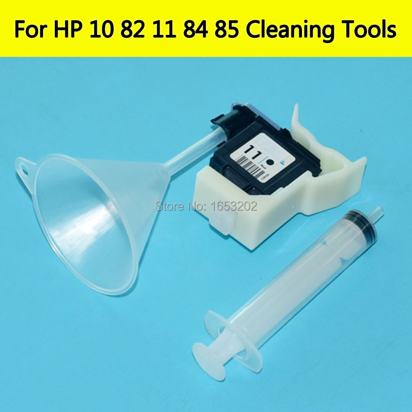 HOT Printhead Cleaning Kit Inkjet Cleaner For HP 11 84 85 Refill ink tools For HP