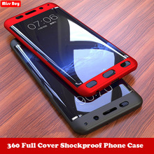 360 Degree Full Cover Phone Cases For Samsung galaxy A9 A7 2018 A750 C7 C9 pro J2 Core J4 J6 Plus S10 Lite A8S Case + Glass