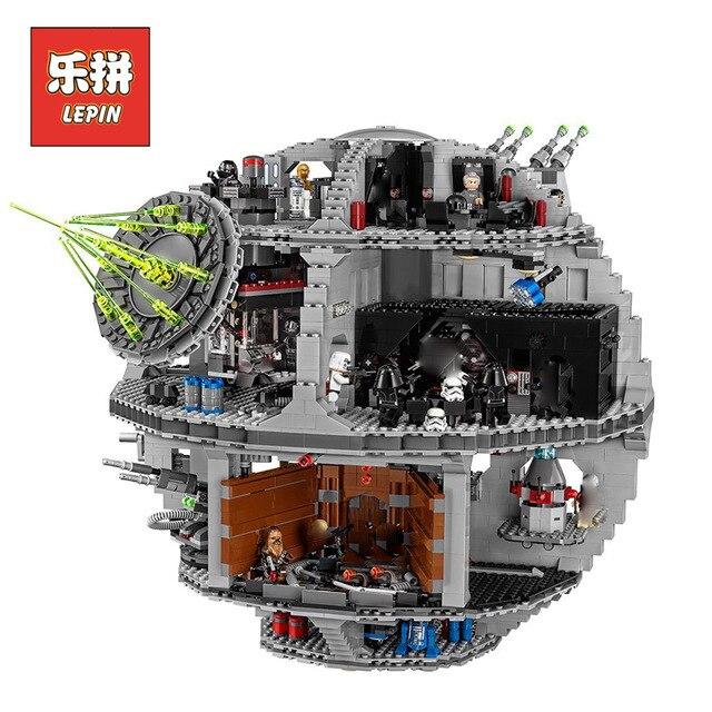 Лепин StarWars серии 05063 Звезда смерти комплект силы разбуди модель строительные блоки Кирпич совместимые legoing 75159 игрушки для детей