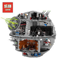 Lepin StarWars Series 05063 Death Star Set Force Waken Model Building Blocks Bricks Compatible legoing 75159 Toys For Children