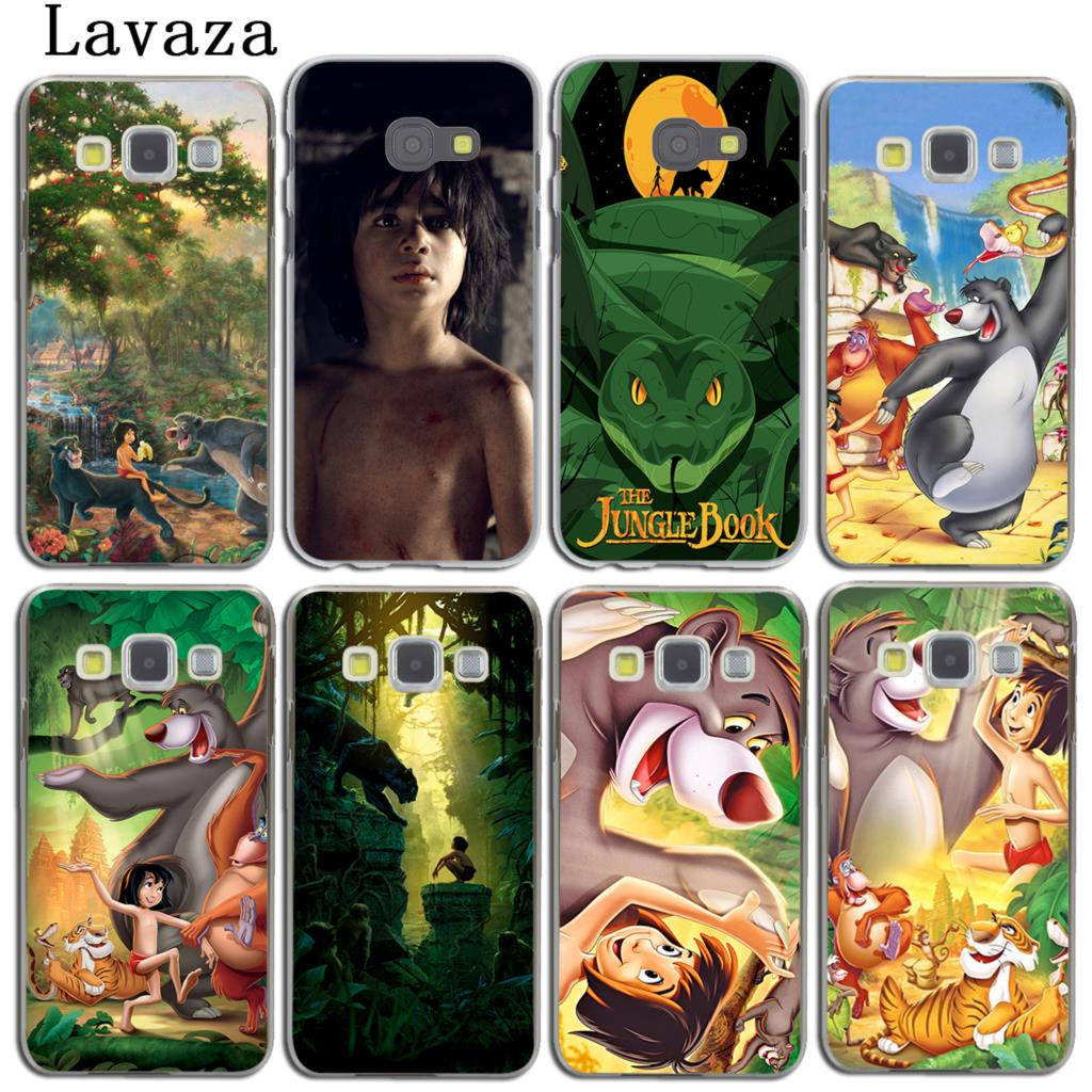 Lavaza Cartoon The Jungle Book Phone Shell Case for Samsung Galaxy A3 A7 A8 A5 2018 2017 2016 2015 Note 8 5 4 3 Grand Prime 2