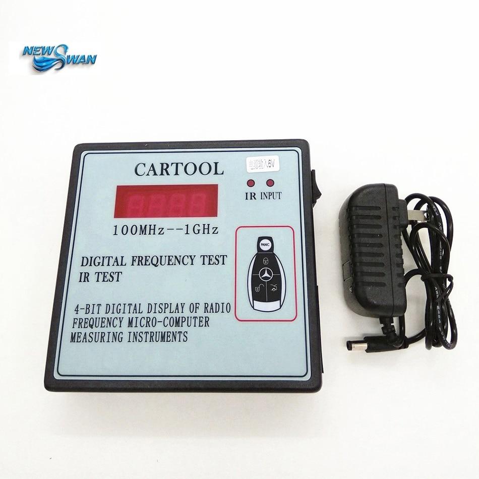 SK-690 affichage numérique 1 bit Go Instruments de radiofréquence pour mesurer Micro-ordinateur sans fil télécommande voiture clé testeur