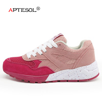APTESOL Korean Fashion Women Shoes Women's Breathable Platform Vulcanize Shoes Ladies Walking Sneakers Tenis Feminino Casual