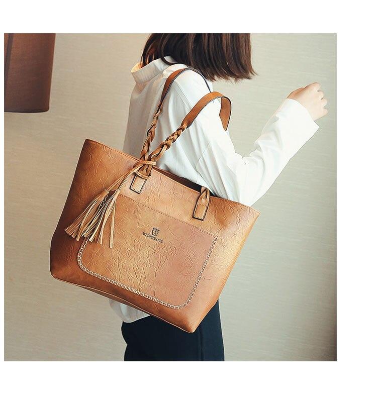 2018 grande capacidade das mulheres sacos de