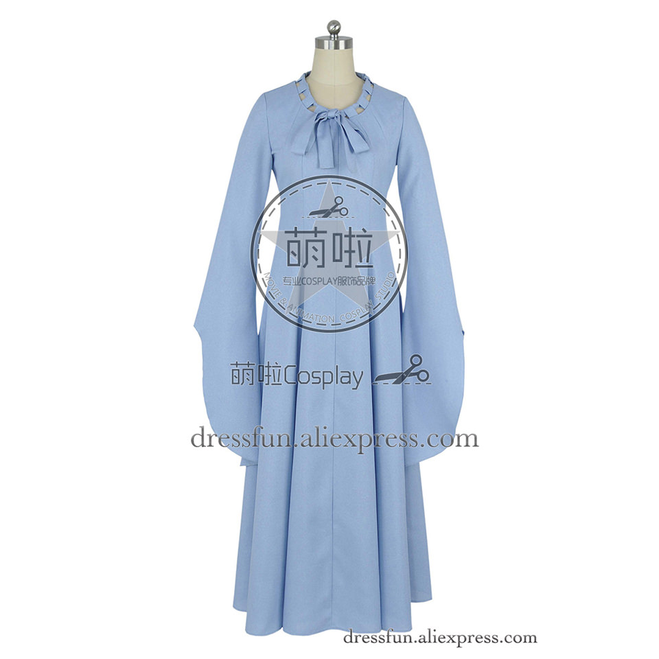 Game of Thrones Cosplay Sansa Stark Alayne Stone Beautiful Costume Blue Dress Uniform Outfits Suit Halloween Party Fast Shipping