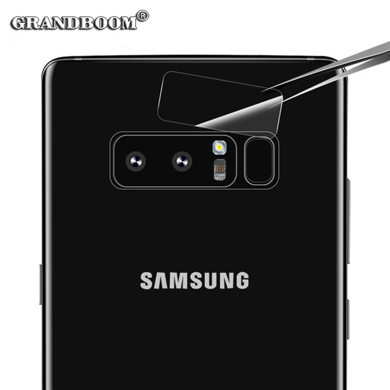 1000pcs Camera Lens Anti-scratch Full Cover Glass For Samsung S9 Plus Note 8 HD Clear 9H Seamless Tempered Glass Protective Film