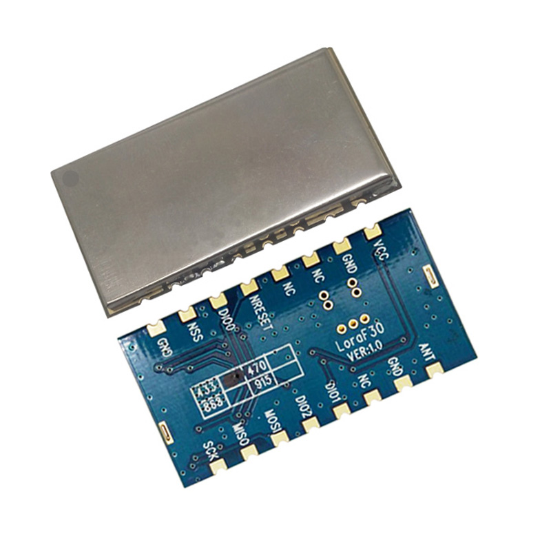 US $46 03 16% OFF|4pcs Lora1278F30 +spring antenna 433mhz 1W 30dBm sx1278  LORA Module Arduino Demo Code 6Km to 8Km RF transceiver-in Replacement  Parts