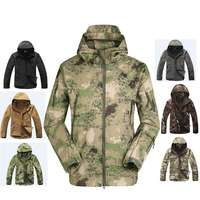 2018 Hunting Clothes Outdoor Shark Skin Tad V4 Tactical Millitary Softshell Jacket Suit Men Waterproof Combat