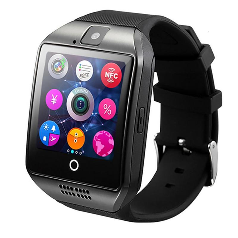 Bluetooth Smart Watch Passometer with Touch Screen camera TF card smartwatch for Android IOS Phone Sleep Monitor Anti-Lost D floveme e8 fashion passometer bluetooth smart watch on wrist for android ios adult reloj intelligent smartwatch sapphire mirror