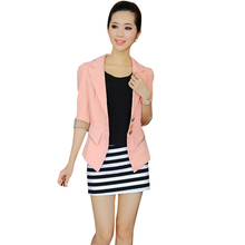 Nice Nice Arrival Women Blazers And Jackets Leopard Splice Leisure Suit Slim  Suit Casacos Feminino Jaquetas Feminina JT99