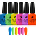 I.B.N Classic Candy Colors LED UV Gel Nail Polish Long Lasting Nail Gel Lacquer Blue Green Yellow Orange 10ml
