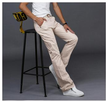 2019 Fashion Casual Mens Flared Jeans Summer Comfortable Denim Pants Trend Wild Youthful Jeans