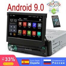Android 9.0 2GB RAM 16G ROM Universal 1Din Car Radio GPS Stereo 7 Touch 1024x600 AutoRadio BT WIFI Mirror Link FM AM RDS no dvd