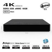 Beelink Mini M8S PRO TV Box Android 7 1 Octa Core 2GB 16GB Amlogic S912 TV