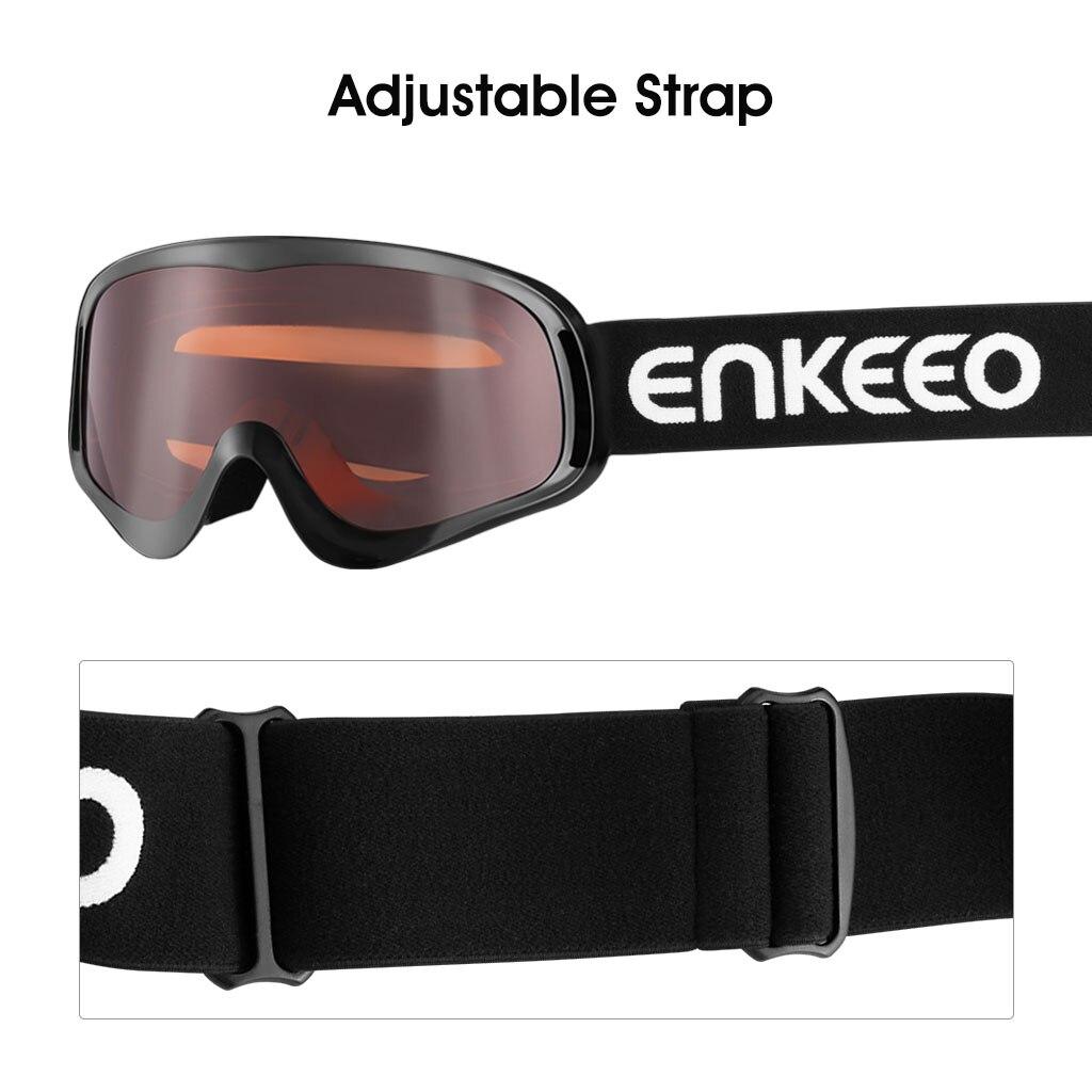 enkeeo casco  Enkeeo Flessibile Sci Ciclismo Moto Occhiali Antivento Occhiali Anti ...