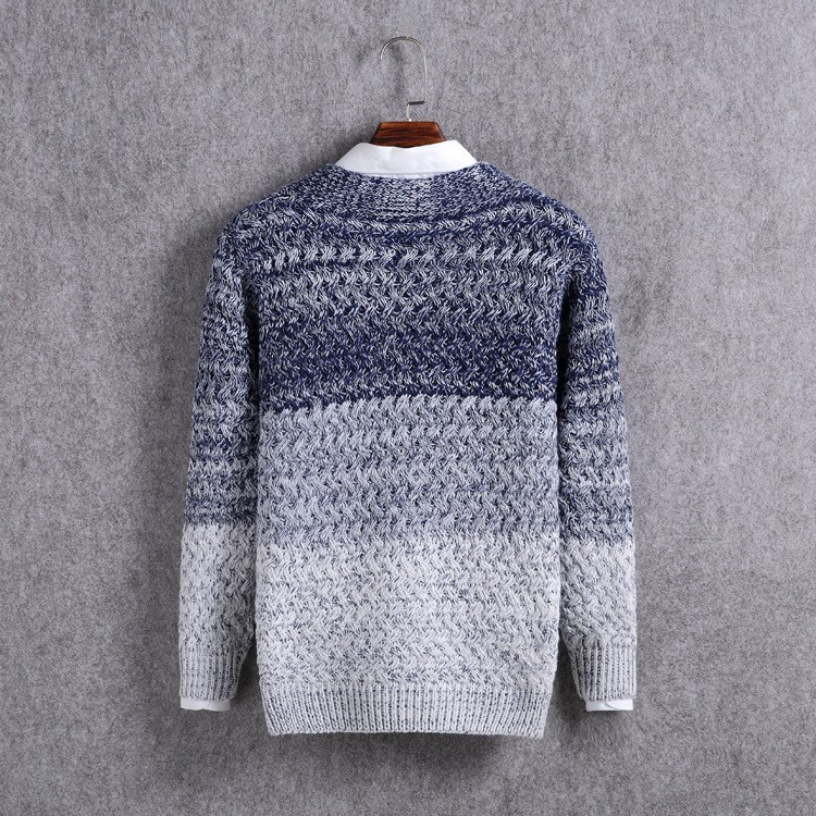 High Quality Mens Sweater New 2015 Autumn Winter Patchwork Cashmere Wool Cardigan Men Sweater Brand Casual V-Neck Mens Clothing (12)
