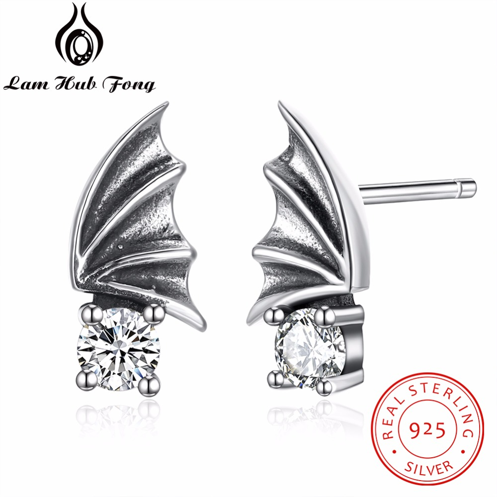 Stud-Earrings Jewelry Crystal Women 100%925-Sterling-Silver with for Anniversary Girl