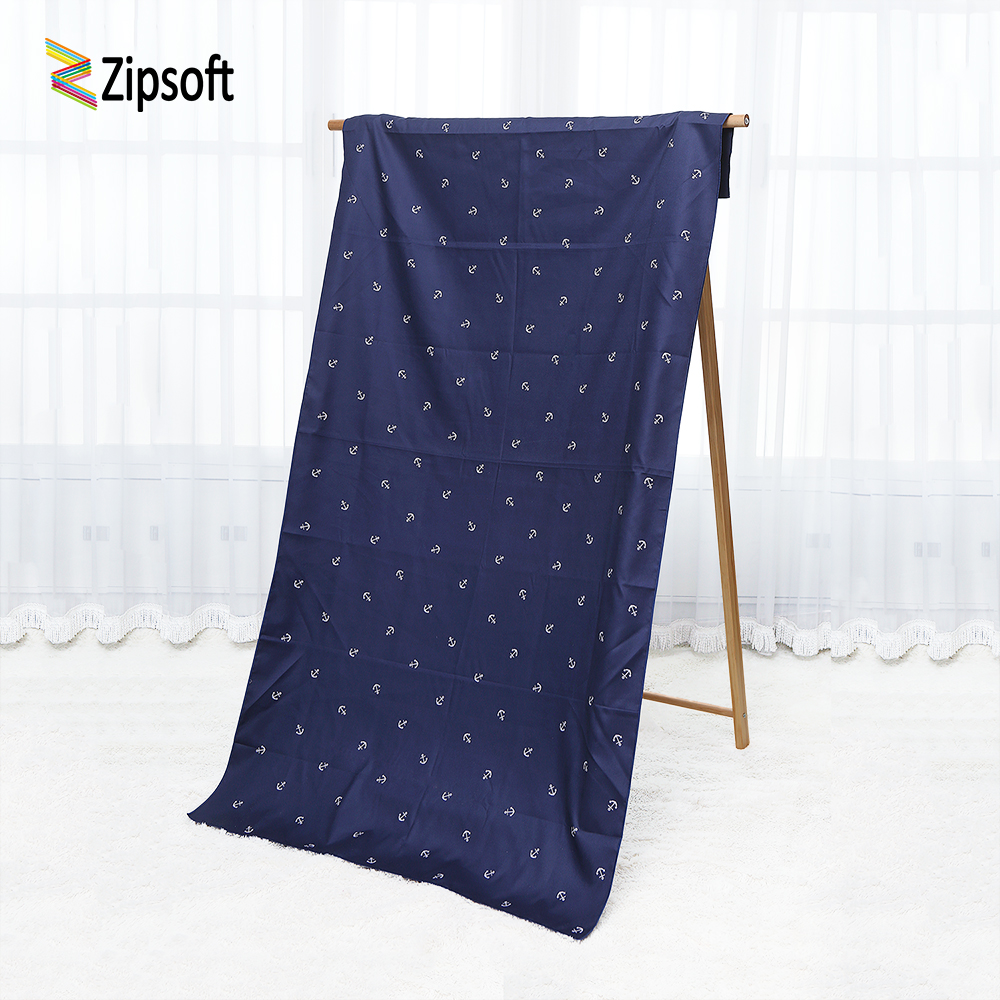 Microfiber Beach towel Large Size Adults Swimming Pool Gym Travel Hiking Camping Bath Quick Dry Anchor 2018 New Zipsoft Brand