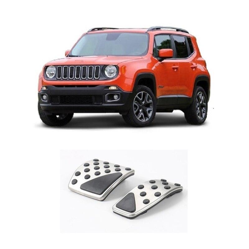 Κάλυμμα πεντάλ φρένου αερίου Κατάλληλο για το Renegade Jeep AT Αξεσουάρ για το styling του αυτοκινήτου