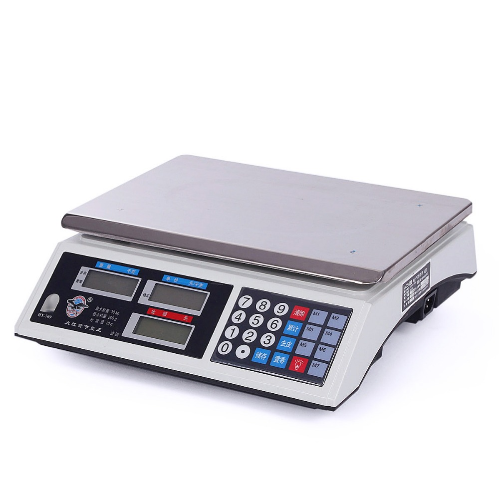 Best Price 83 practical black Dahongying 30kg / 2g electronic scale ...
