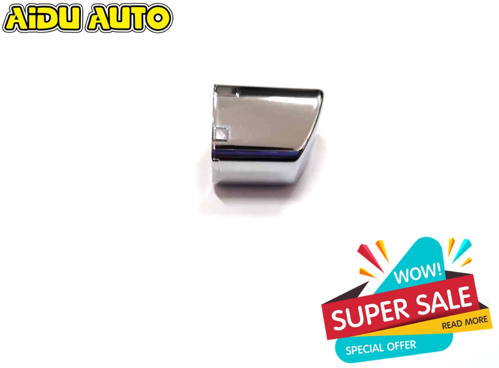 Free Shipping Chrome Hand Brake Button Cover For Polo CROSS 6RD 711 333 A