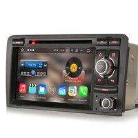Android 7.1 стерео CD DVD автомагнитолы 3G автомобиля GPS навигации для Audi A3 S3 RS3 rnse ПУ СБ navi 3G OBD dtv в Bluetooth WI FI DVR