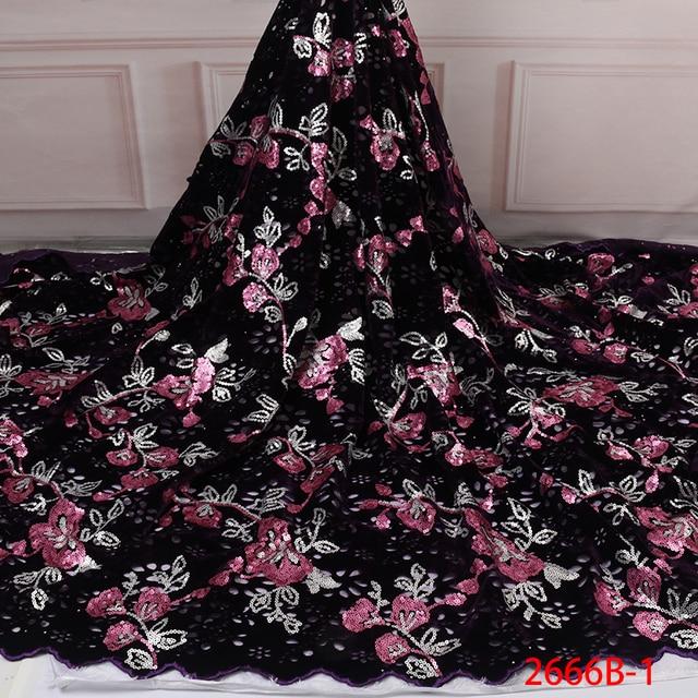 Бархатная кружевная ткань для платьев, новейшая нигерийская французская фатиновая кружевная ткань с пайетками, Высококачественная африканская кружевная ткань с блестками, для платьев, для вечеринок, на лето, 2019