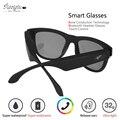 Reotgtu Osso-Fone de ouvido de Condução óculos de Sol Do Bluetooth Bluetooth Speaker Inteligente Saúde Esportes Fones de Ouvido Sem Fio com Microfone