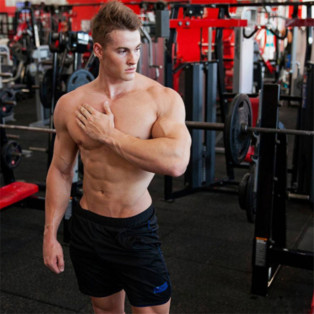 2018 Summer Sport Shorts Men Fitness Crossfit Sweatpants Compression Short Pants Underwear Mens Gym Cotton Run Jogging Shorts
