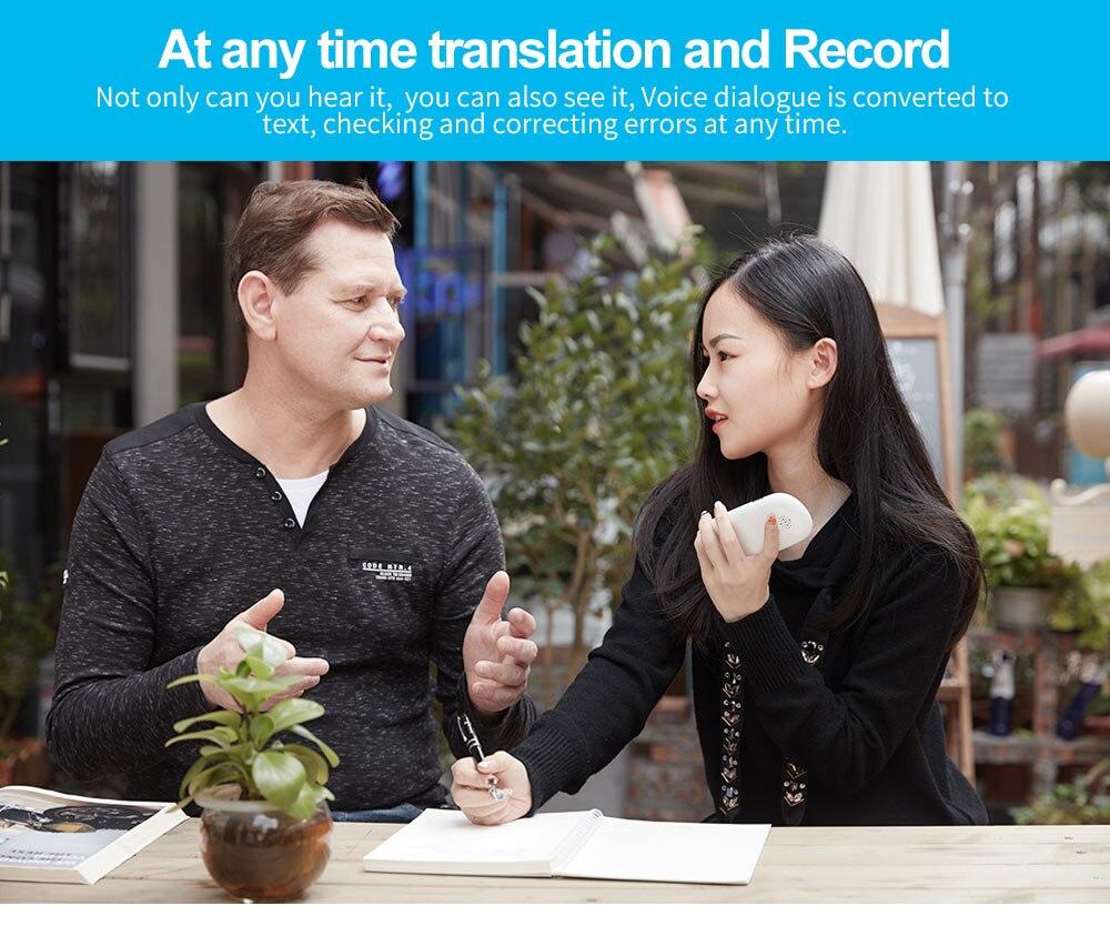 Portable Smart Voice Translator Real Time Multi-Language Translation For Learning Travelling Business multilingual interpreter (5)