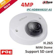 4MP Dahua английский IP Камера IPC-HDBW4431F-AS 4MP ИК купольная безопасности Камера H.265 Поддержка SD карты и функции POE