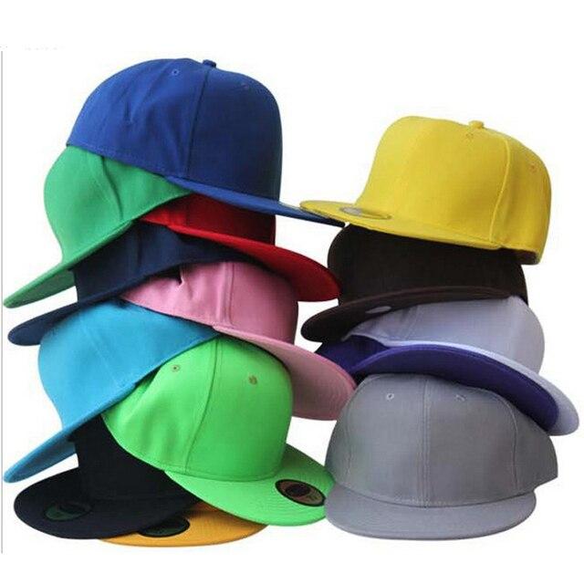 2018 envío gratis para hombre sombreros y gorras Snapback gorra de béisbol  liso básico en blanco 7ef4dc6ad4a
