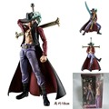 One piece variable action heroes VAH Hawkeye Japan anime Mihawk 19cm PVC Action figure Collectible model toy onepiece Doll