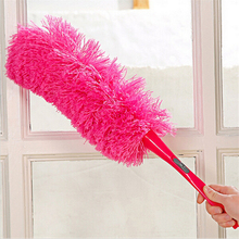 7 Color Long Detachable Bendable Design Ultrafine Microfiber Household Cleaning Car Dust Duster Washable Fan Furniture