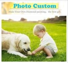 2019 Oneself дизайн фото на заказ Сделай Сам 5D алмазная картина индивидуальный заказ вышивки крестом запись хорошие моменты вашей жизни фото