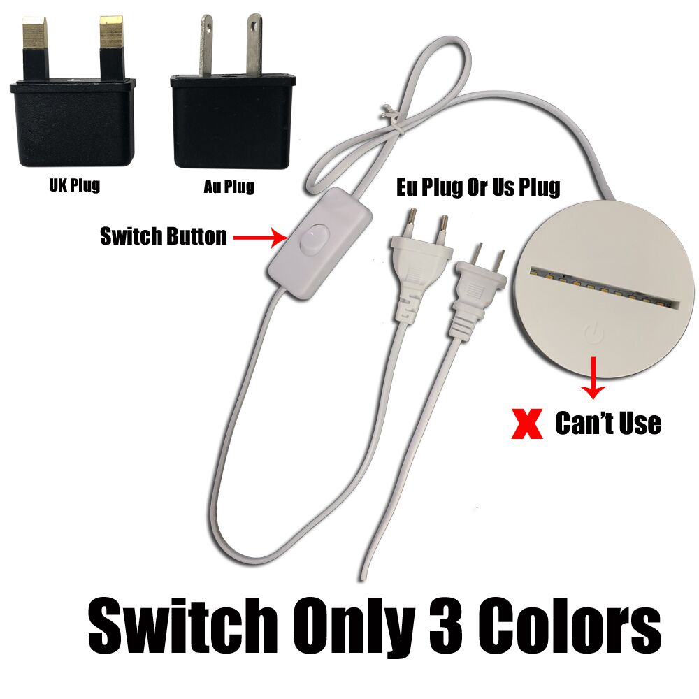1 switch 3 colors