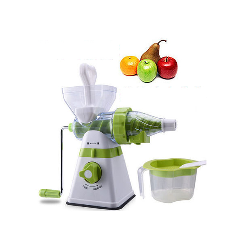 Upgraded Bigger Size Manual Juicer Fruit Vegetbales Juice Maker Ice Cream Machine  Household Multi-function Kitchen Tool household electric juicer fruit juice maker machine automatic vegetable low speed extractor mixer