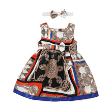 Baby Girl Dresses Summer Sleeveless Newborn Baby Girl Clothi