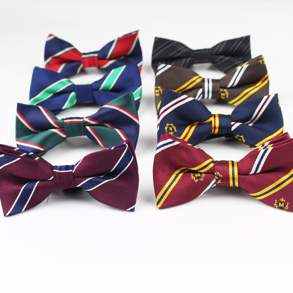 Classical Plaid Children Bowtie Polyester Bowties Baby Kid Kids Classical Pet Striped Butterfly Bow Tie