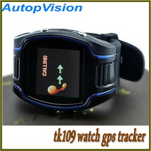 TK109 GPS Tracker Watch sos function With Watch phone Quad band Support GSM GPRS Free shipping