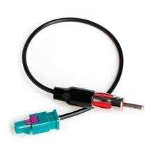 Adaptador de antena estéreo para caminhão de carro, plugue macho de antena, cabo conversor de rádio