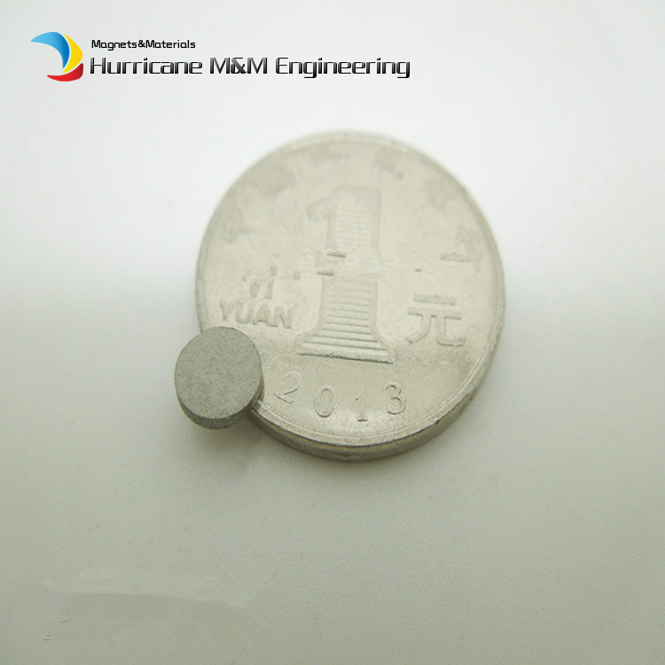 1 pack SmCo Magnet Disc Diameter 6x1 mmabout 0.24''  Grade YXG24H 350 Degree C High Temperature Permanent Rare Earth Magnets 1 pack smco magnet thin disc diameter