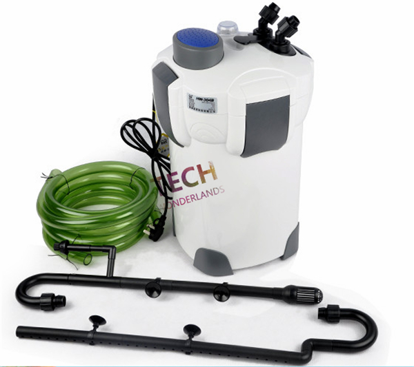 SUNSUN  Aquarium External Canister Filter  HW-302 1000L/h 18W Canister Filter For Fish Tank