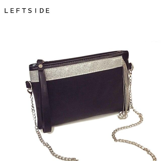 Aliexpress.com : Buy LEFTSIDE 2017 PU Leather women's envelope ...