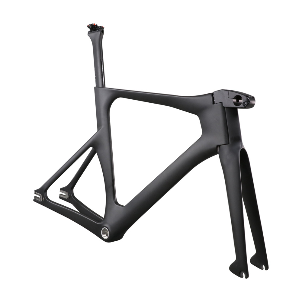 Ican Newest Carbon Track Bike Frame With BSA Bottom Bracket