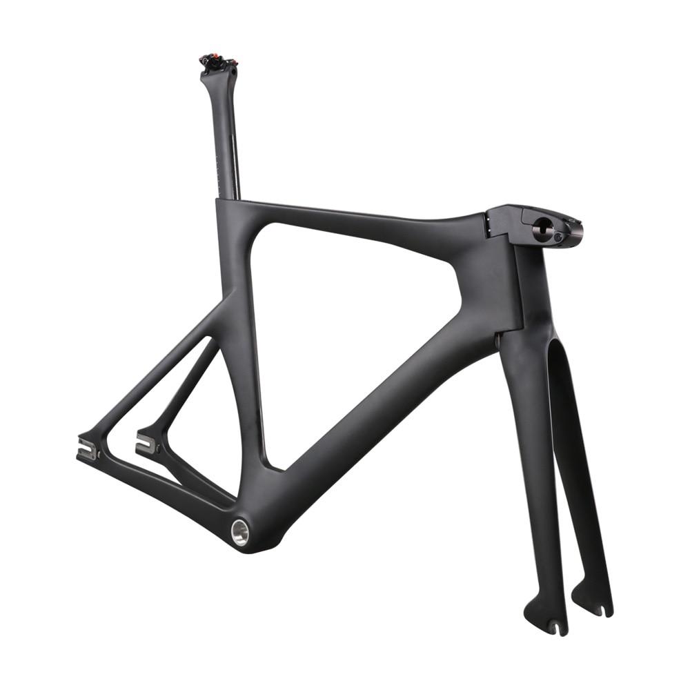Ican Newest Carbon Track Bike Frame With BSA Bottom Bracket