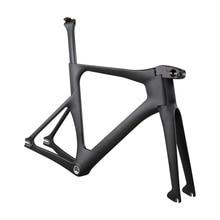 Ican Newest Carbon track bike frame with BSA bottom bracket цены