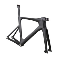 Ican Newest Carbon track bike frame with BSA bottom bracket UD matte or glossy all available
