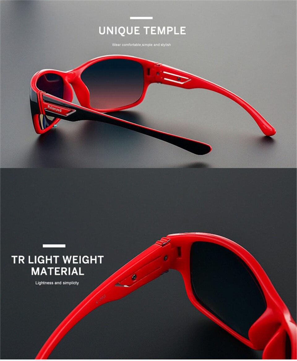 RILIXES 2018 Fashion Guy\'s Sun Glasses From Kdeam Polarized Sunglasses Men Classic Design All-Fit Mirror Sunglass (3)
